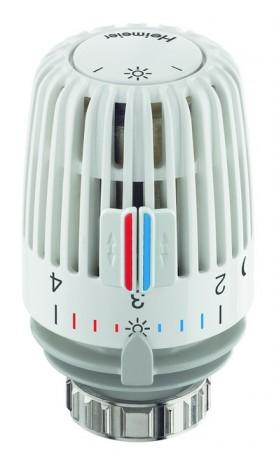 Heimeier Thermostatkopf K weiß mit Nullstellung
