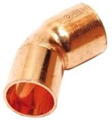 Kupfer Lötfitting Bogen 45°, 1 Muffe, Nr. 5040