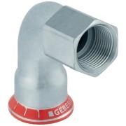 Geberit Mapress C-Stahl Übergangswinkel 90° mit Innengewinde