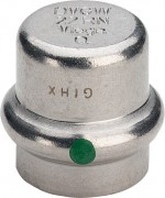Sanpress Inox Verschlußkappe Modell 2356