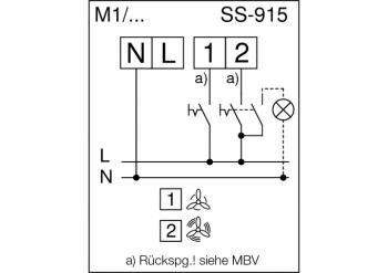 Helios MiniVent Minilüfter M1/100