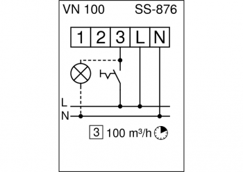 HELIOS Ventilatoreneinsatz ELS-VN 100
