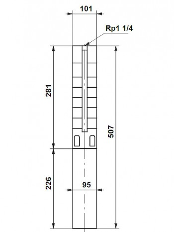 Grundfos Unterwasserpumpe SP 2A-6, 09001K06