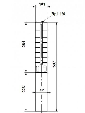 Grundfos Unterwasserpumpe SP 3A-6, 10001K06