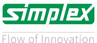 """Simplex Ex-Kupplung B DN 20 3/4"""" IG/IG"""