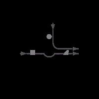 ESBE 3-Wegemischer VRG 131, DN 20, KvS-Wert 4.0, PN10