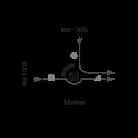 ESBE 3-Wegemischer VRG 331, DN 20 KvS-Wert 13/8