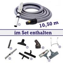 Tubo Fernstart-Reinigungssortiment 10,5 m 8-teilig BS 1050