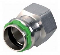 "SudoPress Edelstahl Übergangsmuffe 42 mm x1 1/2"" IG VCE270G"