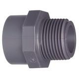 "PVC-Übergangsmuffe 25 mm x 3/4"" Aussengewinde"