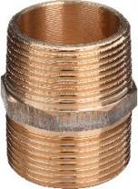 """Viega Rotguss Doppelnippel 3/4"""" Nr. 3280"""