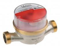 """Wohnungs-Wasserzähler 1/2"""" DN 15 Warmwasser Q3 2,5, 80 mm"""