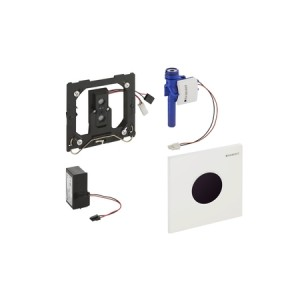 Geberit HyTronic Urinalsteuerung berührungslos, Infrarot/Netz, Design Sigma01, weiß-alpin