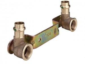 "Sanpress Montageeinheit 15 mm x 1/2"" Modell 2222"