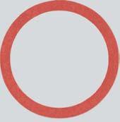 """Fiber-Ring Dichtung 3/4"""" 10-Stück Packung"""