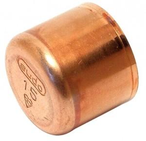 Kupfer Lötfitting Kappe 22 mm Nr. 5301