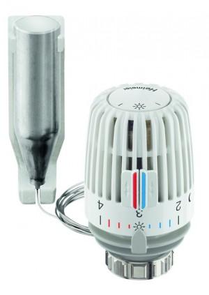Heimeier Thermostatkopf K mit Fernfühler weiß