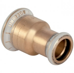 Mapress Kupfer Muffe reduziert 22 x 15 mm 2-Muffen 62055