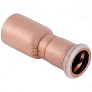 Mapress Kupfer Reduktion 22 x 15 mm mit Einschubende 62305