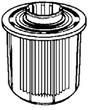 CILLIT / BWT Filtereinsatz für Klarfilter 77N/SN 50977E