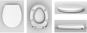 HAUSMARKEN WC-Sitz FUN weiss mit Softclose