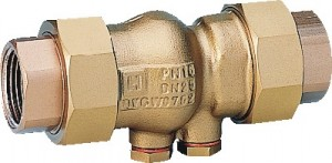 "Honeywell Rückflussverhinderer 1/2"" Messing RV281-1/2A"