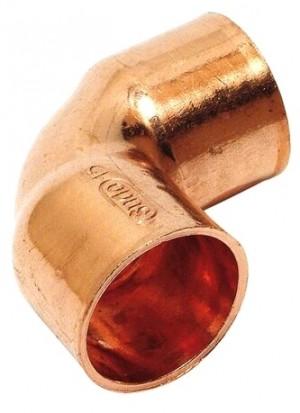 Kupfer Lötfitting Winkel 18 mm 2 Muffen 90° Nr. 5090