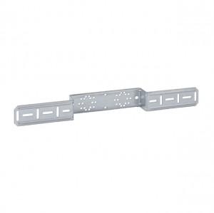 Mepla Montageplatte für 2 Armaturenanschluss, mit Bef.-Schrauben 601.731.00.1