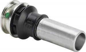 Viega Raxinox Einsteckstück 16 mm x 15 mm Modell 4413