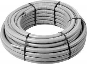 Viega Raxinox Edelstahlrohr  16 x 2,2 mm Ring 50 Meter, Modell 4402.5 mit 9 mm Dämmung