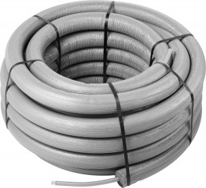 Viega Raxinox Edelstahlrohr 20 x 2,8 mm Ring 25 Meter, Modell 4402.3 mit 26 mm Dämmung