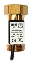 """TA Strömungsschalter STS02 230 V 1,5A 1"""" AC"""