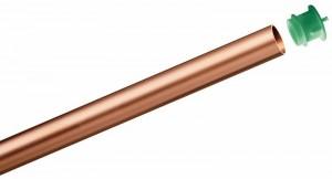 SANCO-Kupferrohr 15 x 1,0 mm, Stange mit 1,5 Meter