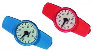 Heimeier Thermometer rot für Globo H, P und P-S, Nr. 0600-02.380