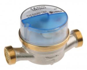 """Wohnungs-Wasserzähler 1/2"""" DN 15 Kaltwasser Q3 2,5"""