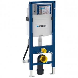 Geberit Duofix Element für Wand-WC, 112 cm, mit Sigma UP-Spülkasten 12 cm, barrierefrei