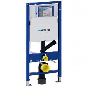 Geberit Duofix Element für Wand-WC, 112 cm, mit Sigma UP-Spülkasten 12 cm, für Geruchsabsaugung mit Abluft
