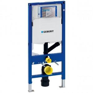 Geberit Duofix Element für Wand-WC, 112 cm, mit Sigma UP-Spülkasten 12 cm, für Geruchsabsaugung mit Umluft
