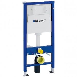 Geberit DuofixBasic Element für Wand-WC, 112 cm, mit Delta UP-Spülkasten 12 cm