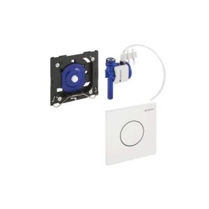 Geberit HyTouch Urinal-Handauslösung, pneumatisch, Design Sigma 01, weiß