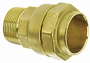 """Isiflo 110 Anschlussverschraubung 40 mm x 1 1/4"""" AG"""