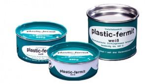 Plastik-Fermit Dichtungskitt weiss 250 g Dose