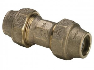Viega Maxiplex PE-Kupplung 25 mm x 25 mm, Modell 9041