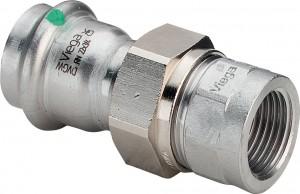 "Sanpress Inox Verschraubung 22 mm x 1"" IG Modell 2362"