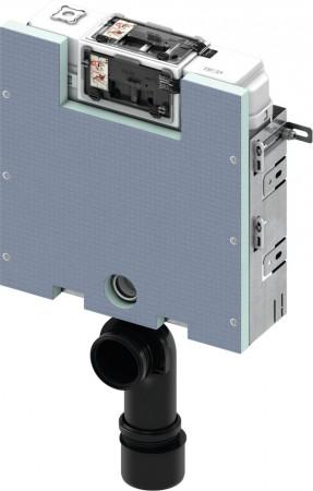 TECEbox WC-Modul mit Uni-Spülkasten und Fliesenträger-Front, Bauhöhe 820 mm, 9375000