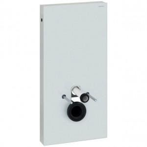 Geberit Monolith Sanitärmodul für Wand-WC, Höhe 101 cm, Glas weiß, 131.022.SI.5