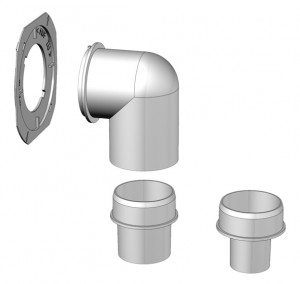 Helios WC-Anbindungsset els-wcs