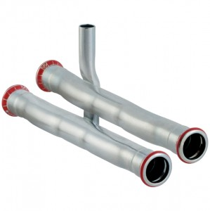 Geberit Mapress C-Stahl Set Anschluss-T-Stück für Rücklauf