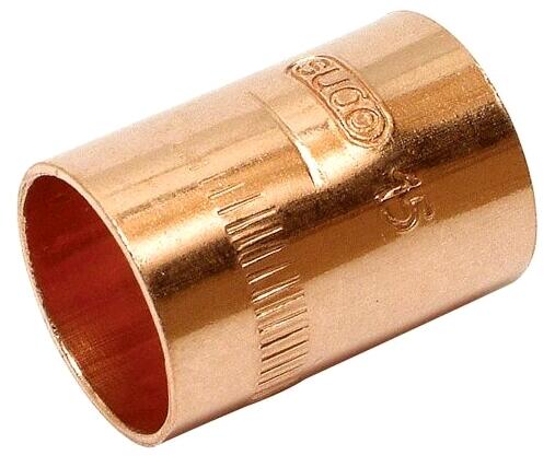 Kupfer Lotfitting Muffe 22 Mm Nr 5270