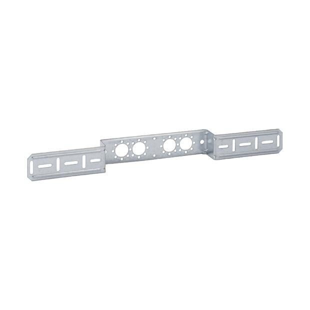 Mepla Montageplatte für 2 Armaturenanschluss, mit Bef.-Schrauben 601.732.00.1